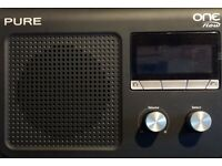 PURE ONE flow Internet wi-fi radio with DAB, DAB+ and FM