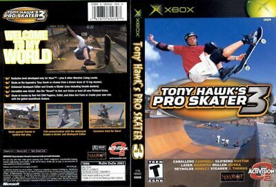 Tony Hawk's Pro Skater 3 (Microsoft Xbox, 2002)