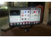 Lg 42 inch slim led 3D smart WiFi new condition fully working with remote control
