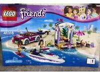 LEGO Friends UK 41316 Andrea's Speedboat Transporter Construction Toy