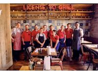 Waiting Staff - Full and Part Time