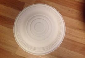 x9 Ceiling Rose - plaster. NEW and unused. 19 inch X 1.5 inch. £14 each