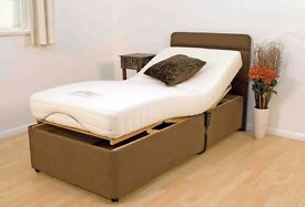 Furmanac Leanne Electronically Operated Rise & Recline Bed,Never Used ,For Sale £323 New £850