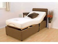 Furmanac Leanne Electronically Operated Rise & Recline Bed,Never Used ,For Sale £353 Paid £850