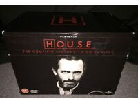 House: The Complete Seasons 1 - 8 (Complete DVD Box Set)
