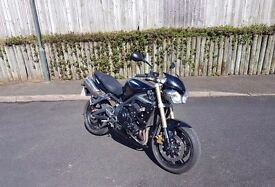 2012 Triumph Street Triple - Black