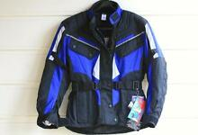 "Ladies Motorcycle Jacket ""Blue Dingo"" Size 8 - Display Stock Mount Victoria Blue Mountains Preview"