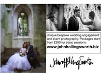 Wedding and Portrait packages from as little as £300