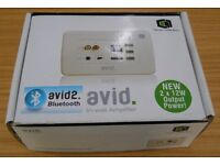 CLEVER LITTLE BOX - Unused AVID2 Bluetooth in wall amplifier and audio distributor