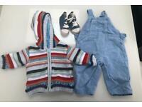 Boys 6-12mths 20 Piece Baby Clothes Bundle