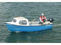 FAMILY FISHERMAN PACKAGE COMPLETE WITH 3.5HP TOHATSU OUTBOARD MOTOR ALL NEW AND READY TO GO