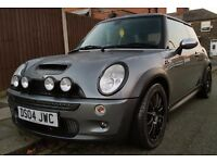 Mini Cooper S 1.6 supercharged R53 - Team Dynamics Alloys - Excellent condition