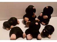 Mole Family Garden ornaments