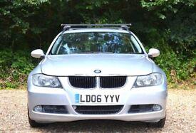 BMW 3 Series 2.0 320d SE Touring 5dr FREE WARRANTY 2006 (06 reg), Estate 136,000 miles Diesel