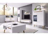 NORDI COLLECTION! SCANDINAVIAN STYLE! OPTIONAL LED! HIGH QUALITY! HIGH GLOSS! MDF!