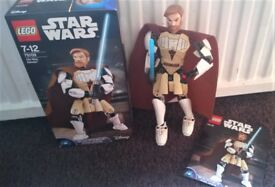 Lego Star Wars Obi-Wan Kenobi figure - as new in box