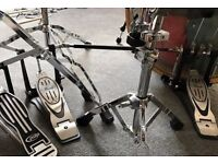 Double Bass Drum Pedal - Pearl P902C (with case) - Practically Unused