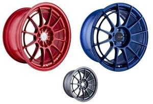 Enkei NT03+M 18x9.5 5x114.3 40mm Offset 72.6mm Bore - Competition Red Wheel