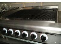 Charcoal Grill For Piri Piri Chicken