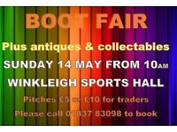 Boot Fair with Antiques & Collectables - Devon