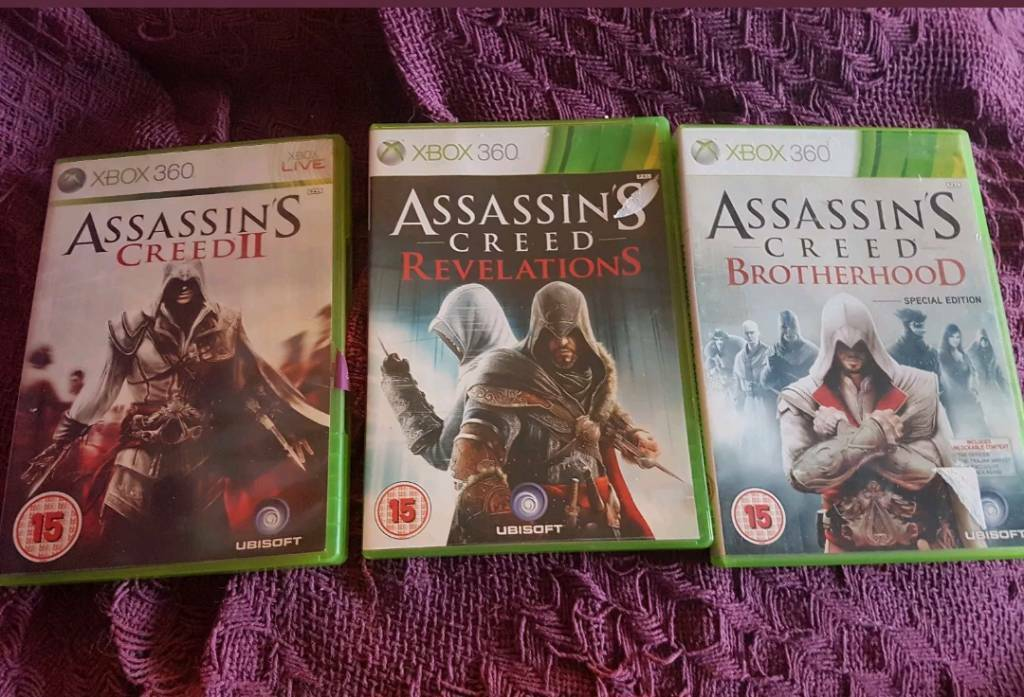 Assassins Creed Bundle 360 Gamesin Fakenham, NorfolkGumtree - Assassins creed 2 with Brotherhood and revelations in Used Condition
