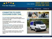 VAN DRIVERS WANTED. You MUST own your own VAN - Both escort size and transit vans acecptable.