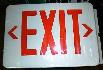 - Crescent Stonco LED Exit Sign CPRW32EN NEW AC/DC Dual V