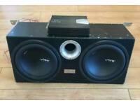 Subs & amp & wiring & speakers