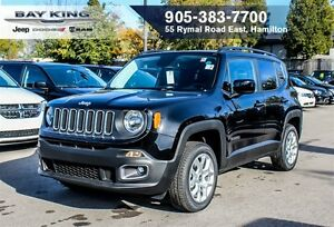 2016 Jeep Renegade NORTH, 4X4, REMOTE START, BACKUP CAM, HTD SEA