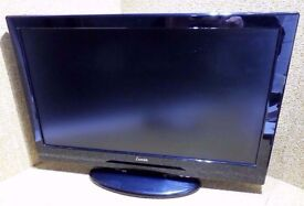 Luxor 22 inch HD Ready LCD TV with Built-in Digital Freeview tuner and DVD Player