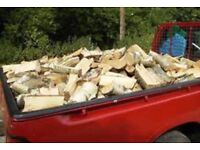 Barn stored logs £60 large truck load (dry logs )