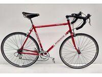 Chas Roberts bespoke fillet brazed racing touring bicycle