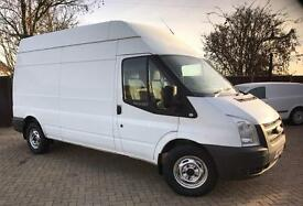 FORD TRANSIT VAN LWB HI ROOF 125PS EURO5