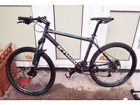 Btwin rockrider 500 mountain bike + equipment