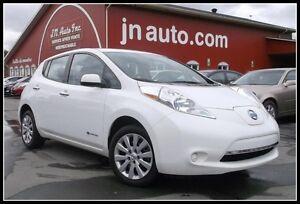 2014 Nissan * Leaf S+ 6.6 kw  Recharge 110v,220v et chademo 400v