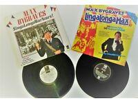 2 Max Bygraves records Vinl LPs vintage