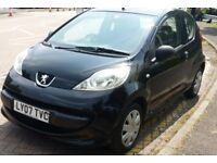 Peugeot 107 1.0L £20 tax year low milage , new mot