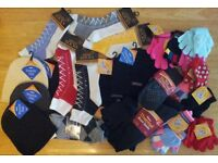Winter Clearance on gloves, hats, socks, scarves 300 units