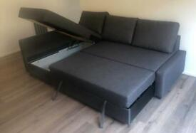 Ikea corner sofa bed. Hardly used. Delivery