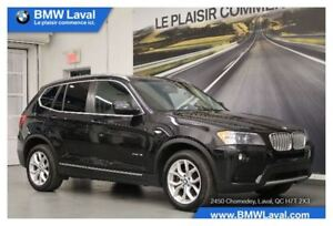 2014 BMW X3 xDrive28i GROUPE DE LUXE, TOIT OUVRANT