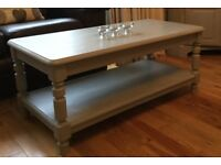 Ducal Pine Coffee Table - Paris Grey