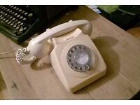 Vintage GPO rotary telephone (untested)