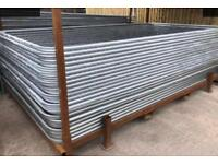 🔗 ** new round top heras fencing / site security panels