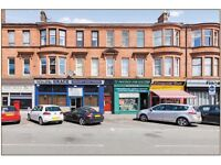 Spacious 2 bedroom Shawlands south side flat to rent