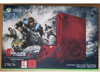 Xbox One S 2TB Red Console + 2 Games