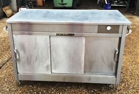 Caterlux Stainless Steel Hot Cupboard Carvery Unit