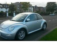 Volkswagen Beetle 1.6 8V 3d 101 BHP STUNNING IN SILVER