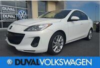 2012 Mazda MAZDA3 GT BAS KM ** 43745 KM ** PNEUS HIVER INCLUS **