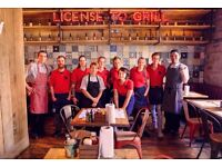 Full / Part Time Waiting Staff Required -Burgers and Beers Grillhouse
