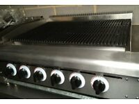 6 Burner Charcall Grill, For Piri Piri